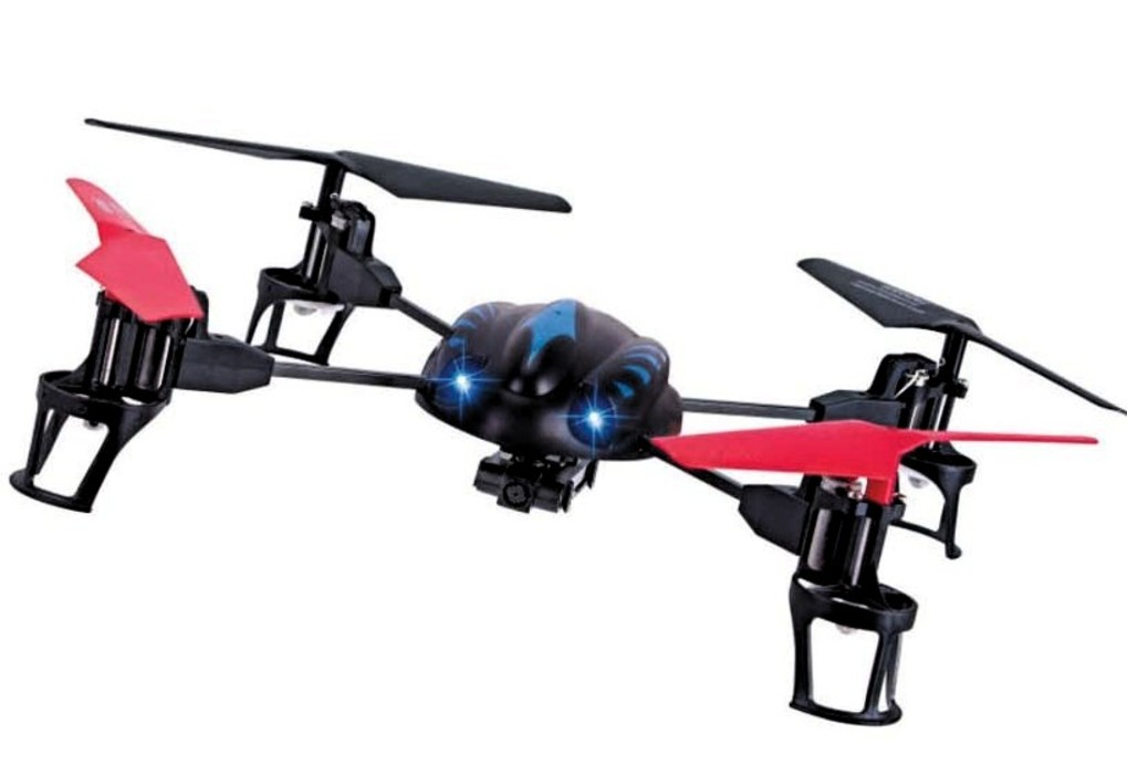 Drone pronto para atacar
