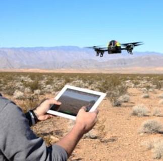 Drone controlado pelo Smartphone