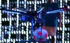 Futebol graças ao Drone